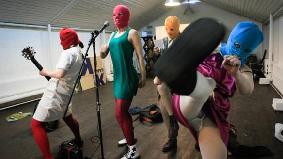 "Кадр из фильма ""Pussy Riot: панк-молебен"", 2012"