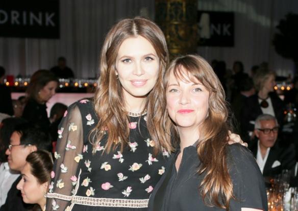 Даша Жукова и Кейт Фоул на гала-вечере ICI, ноябрь 2012. Фото: Агентство Билли Фаррела