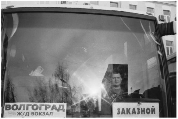 """Ольга Чернышева, из серии """"в Москву"""", 2010. собственность: Pop:off:art gallery (Москва, Берлин)"""