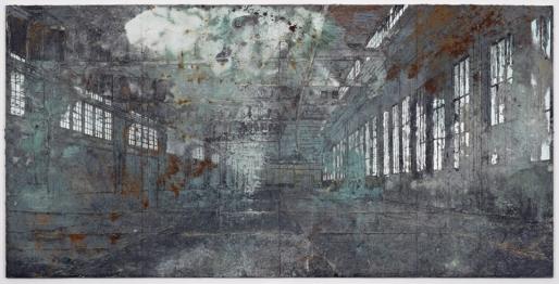 Ансельм Кифер,Tempelhof 2011, Собственность галерея White Cube, Лондон