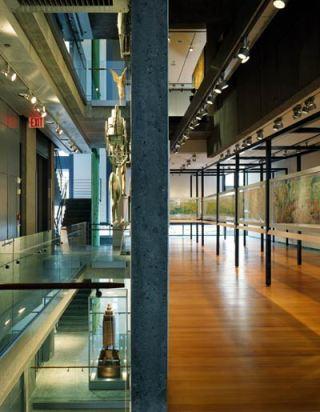 Интерьер в бывшем здании Американского музея Народного Искусства