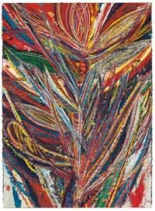 Марк Гроджан, Без названия (Лотус #2, Райская птица, пасть льва), 2012