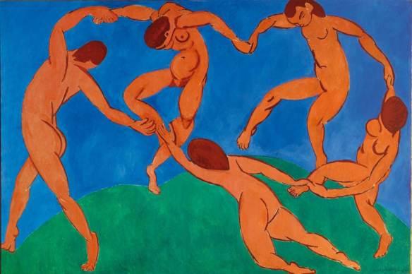 Анри Матисс. Танец. 1910. Коллекция Госудерственного Эрмитажа
