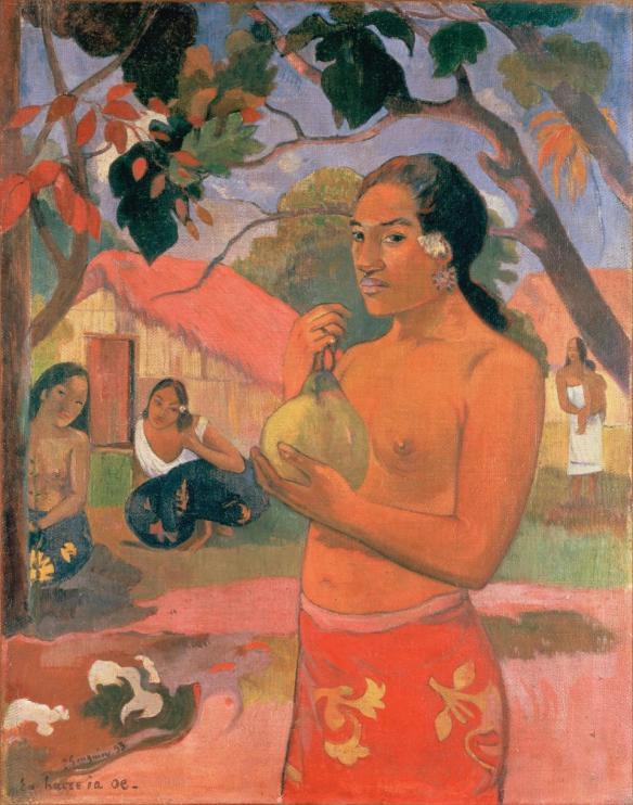 Поль Гоген, Женщина с фруктом, 1893. Коллекция Морозова, Государственный Эрмитаж, Санкт-Петербург