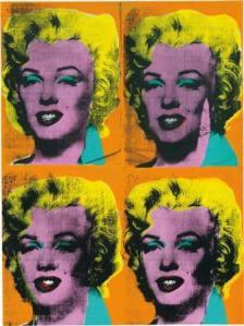 Энди Уорхол, Четыре Мэрилин, 1962