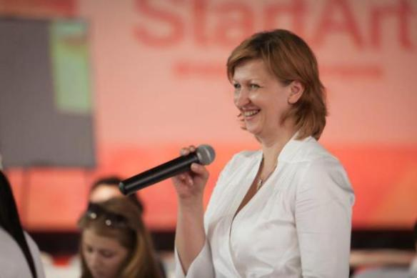 Бывший и.о. директора PERMM, Елена Олейникова