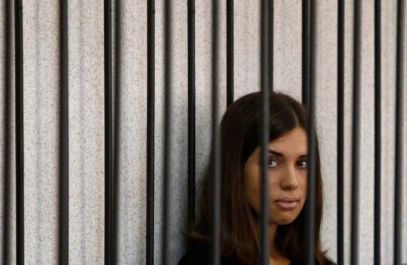 Надежда Толоконникова на заседании суда, 26 июля 2013. Фото: Сергей Капухин.