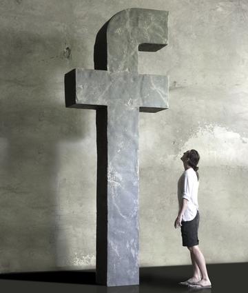 """Recycle. Буква F, 2012. Собственность галереи """"Триумф"""""""