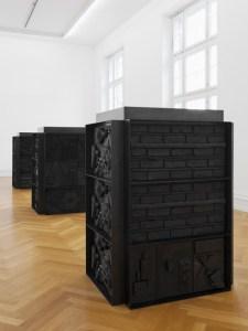 Вид выставки Изабелль Корнаро, Кунстхалле Берна 2013