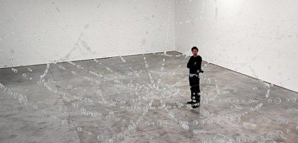 Инсталляция Моны Хатум, Сеть, 2006.