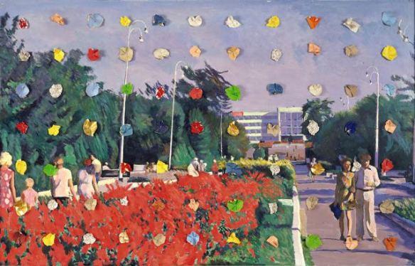 Илья Кабаков, Выходной № 6, 1987