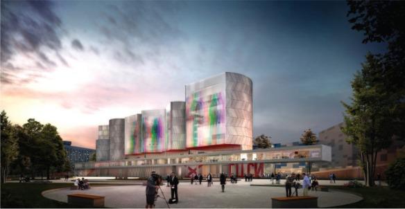 проект ГЦСИ Nieto Sobejano Arquitectos