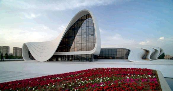 Центр Гейдара Алиева в Баку, Азербайджан